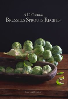 A collection of awesome, amazing and delicious brussels sprouts recipes from @whiteonrice