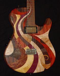 Stambaugh designs - Spacedelic '67 Art Guitar