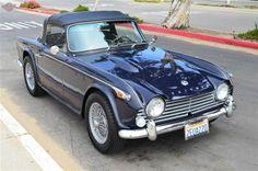 1967 Triumph TR4A...I'd love one.