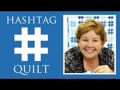 #HashtagQuilt #hashtags are all the rage right now. I love all the blues in this #quilt by #JennyDoan from #MSQC