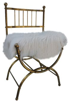 The Italian marvel makes for an unconventional desk seat or a glamorous alternative in the entryway   archdigest.com