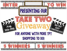 Take Two Giveaway