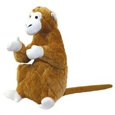 Mighty Toy Safari Monkey - Morty - Safari (Dogs Over 20 Lbs) - VIP Products