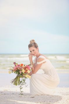 Tahitian Wedding at Sundial Beach Resort & Spa | Sanibel Island | Florida Weddings - Find out more about this look!