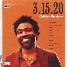 Childish Gambino - 3.15.20 : freshalbumart