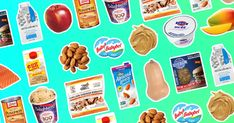 Girl's Official 2019 Supermarket List Hungry Girl's Official 2019 Supermarket List: Fabulous grocery shopping cheat sheet for diet-friendly foods!Hungry Girl's Official 2019 Supermarket List: Fabulous grocery shopping cheat sheet for diet-friendly foods! Healthy Sweet Snacks, Healthy Food List, Healthy Recipes, Healthy Breakfasts, Protein Snacks, High Protein, Healthy Shopping, Eating Fast, Clean Eating Snacks