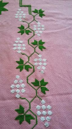 The most beautiful cross-stitch pattern - Knitting, Crochet Love Cross Stitch Letters, Cross Stitch Bookmarks, Cross Stitch Borders, Cross Stitch Art, Cross Stitch Flowers, Modern Cross Stitch, Cross Stitch Designs, Cross Stitching, Cross Stitch Embroidery