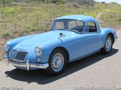 1959 #MGA Twin Cam Coupe