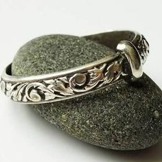 Choose a thistle design for your wedding rings. | 26 Impossibly Beautiful Scottish Wedding Ideas