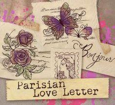 Parisian Love Letter (Design Pack)_image - Urban Threads