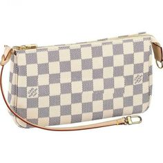 Louis Vuitton N51986 Damier Azur Canvas Pochette