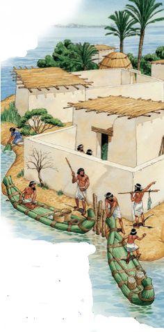 La vida del pueblo Sumer ~ Aprenda historia de la humanidad