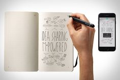 """Yes, Moleskine has created """"smart"""" notebooks before - but those have generally required snapping a photo of the page with your phone, or buying an expensive add-on. The Moleskine Smart Writing Set finally gets it right, pairing a real-world notebook..."""