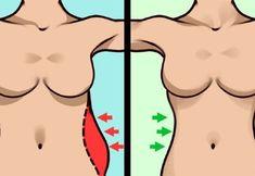 10 egyszerű gyakorlat a karcsú derék és a lapos has eléréséhez Hip Muscles, Abdominal Muscles, Glut Exercises, Small Waist Workout, Hip Lifts, Breath In Breath Out, Tone It Up, Calisthenics, Massage