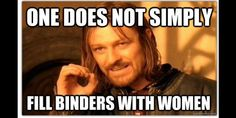 money binders full women other internet memes trump voter issues