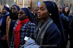 #Muslim,#Anti-violence,#Blacklifesmatter,#Rally,#Philadelphia,#12.27.14. Raymond W Holman Jr Photography