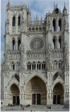 Cathédrale Notre-Dame d'Amiens, facade occidentale
