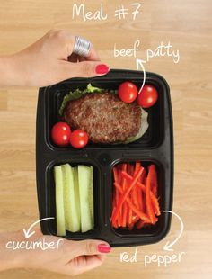 Diary of a Fit Mommy | 7 Days Of Healthy Meal Prep Ideas – Ready To Eat Meals and Protein On The Go With The Best Meal Containers | http://diaryofafitmommy.com