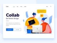 Collaboration designed by Uran. Connect with them on Dribbble; the global community for designers and creative professionals. Empty State, Web Design, Flat Design, Creer Un Site Web, Website Design Inspiration, Saint Charles, Interface Design, Show And Tell, Collaboration