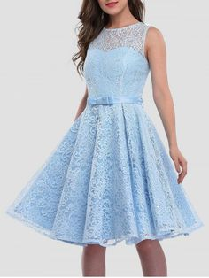 GET $50 NOW | Join RoseGal: Get YOUR $50 NOW!http://www.rosegal.com/lace-dresses/lace-sleeveless-knee-length-cocktail-1060170.html?seid=8477452rg1060170