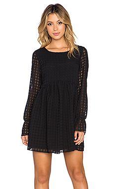 BCBGeneration Long Sleeve Dress in Black