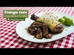 Receita de Frango com Cogumelos e Tomilho