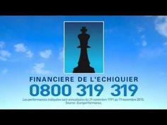 La partie d'échecs - publicité Financière de l'Echiquier