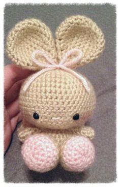Amigurumi Bunny Snowbunnies by BunniBooBoutique on Etsy, $20.00
