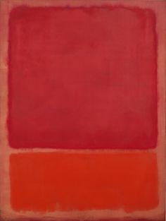 Untitled (Red, Orange) (Mark Rothko,1968)