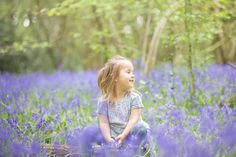 Kids Bluebells Photography Surrey, Blue Flowers, Spring Time, Woodland, Sisters, Kids, Photos, Photography, Inspiration