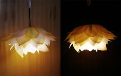 Stunning Lumin Flower - Paper light