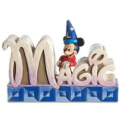Alternate View Alternate View  Click for zoom feature  ''Magic'' Sorcerer Mickey Mouse Figurine by Jim Shore  $29.50