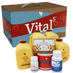 Vital5 Pak with Forever Aloe Vera Gel