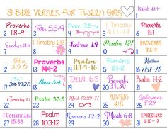 31 Days of Bible Verses for Girls | #FCBlogger