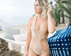 Goddess Swimwear by GoddessBikini on Etsy Free Spirited Woman, Bikini Swimwear, Bikinis, California Dreamin', Designer Swimwear, Bikini Fashion, Her Hair, Must Haves, Bikini