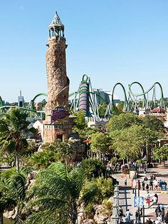 FamilyFun's Top 12 Family Vacation Destinations: #2 Universal's Islands of Adventure, Orlando, FL