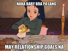 Trending Now: Princess Sarah Potato Memes and My Top 10 Favorite Memes Pinoy, Memes Tagalog, Pinoy Quotes, Filipino Quotes, Hugot, Stress Busters, Cartoon Quotes, Pick Up Lines, Disney Memes