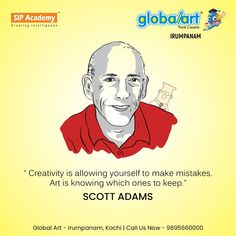 Making mistakes are normal and is a part of the creative learning process. Pick the right art programme for your child today at Globalart Irumpanam. Call us more details: 98956 60000 Learning Process, Art Programs, Kochi, Global Art, Making Mistakes, Imagination, Creativity, Child, Memes