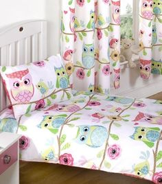 Owl and Friends, toddler bedding from our exclusive range