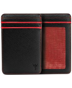 A pop of red will totally boost his accessories game — Wurkin Stiffs wallet