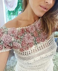 52 Awesome Easy Crochet Tops for Summer 2019 - Page 13 of 46 - Strick Mode - Crochet