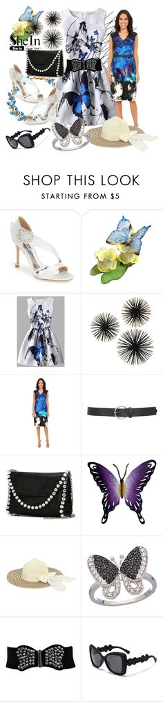 """""""Shein"""" by vaslida ❤ liked on Polyvore featuring Badgley Mischka, Herend, Christin Michaels, M&Co, STELLA McCARTNEY and NOVICA"""
