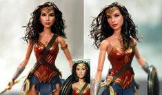 Wonder Woman Gal Gadot custom doll repaint by noeling on DeviantArt