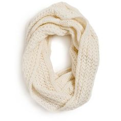 Who doesn't want a KNITTED INFINITY SCARF?!