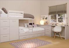Habitaciones para niños y adolescentes de la firma Asoral. Decoración del hogar.