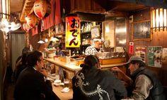 Fun dining at Japan's street food stalls