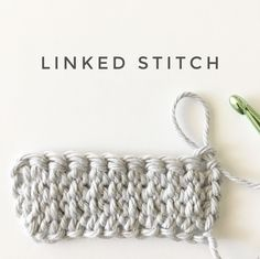 I recently used this stitch as the border for the polka dot blanket. I wanted to explain it in…
