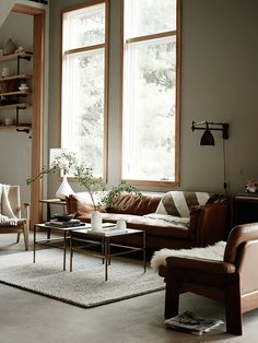 reclaimed pieces, clean lines, and warmth.