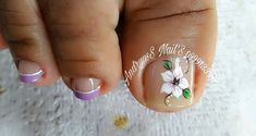 Cute Toe Nails, Cute Toes, Toe Nail Art, Toe Nail Designs, Manicure And Pedicure, Simple Designs, Lily, Instagram Posts, Beauty