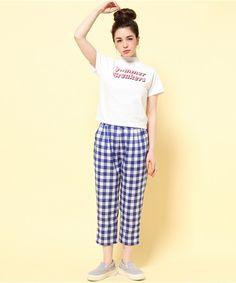 Aymmy in the batty girls(エイミー インザ バッティー ガール)のSUMMER BREAKERS スタンドネックTシャツ(Tシャツ/カットソー)|詳細画像